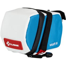 Cube Teamline Multi S Satteltasche weiß/blau